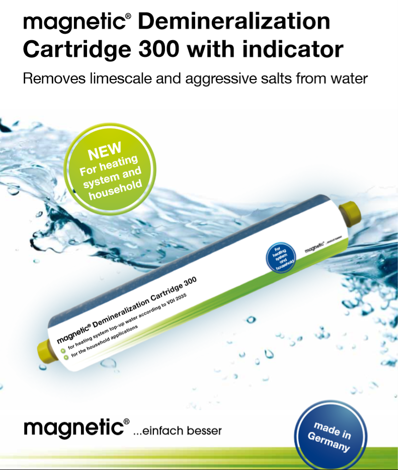 Image of demineralistaion cartridge